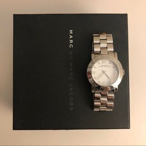 ✨ Marc by Marc Jacobs Silver Watch ✨